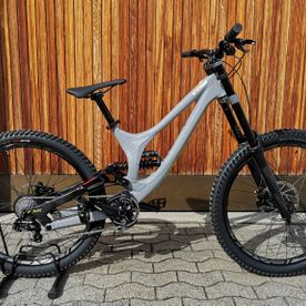 Mietbike, Downhill, Specialized Demo 8 I, 27.5, grey-ion