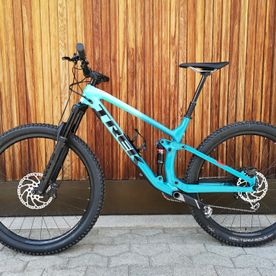 Mietbike, Trek, Fuel Ex 9.7 Carbon 29, green-teal fade