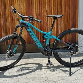 E-Bike, Mietbike, Trek Rail 9 GX teal-navy